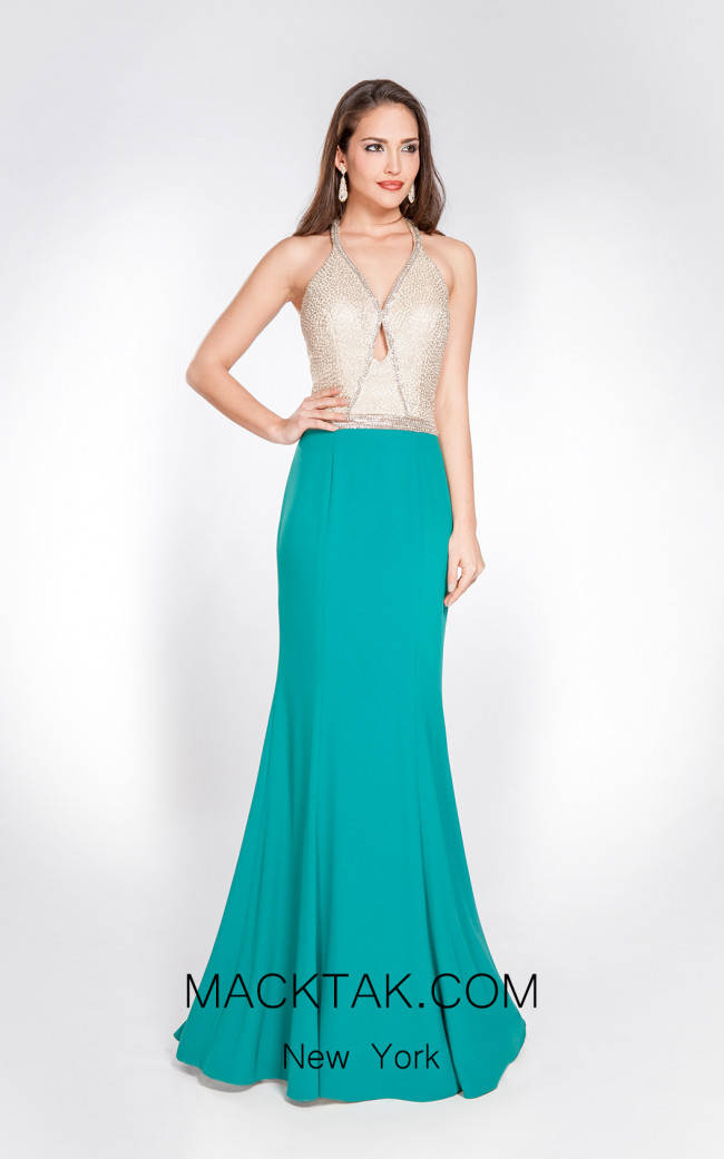 X & M Couture 49069 Front Evening Dress