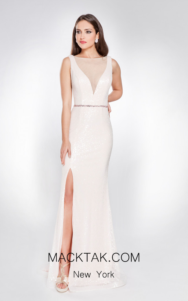 X & M Couture 49081 Front Evening Dress