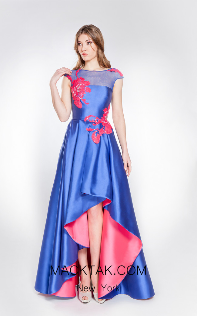 X & M Couture 49083 Front Evening Dress