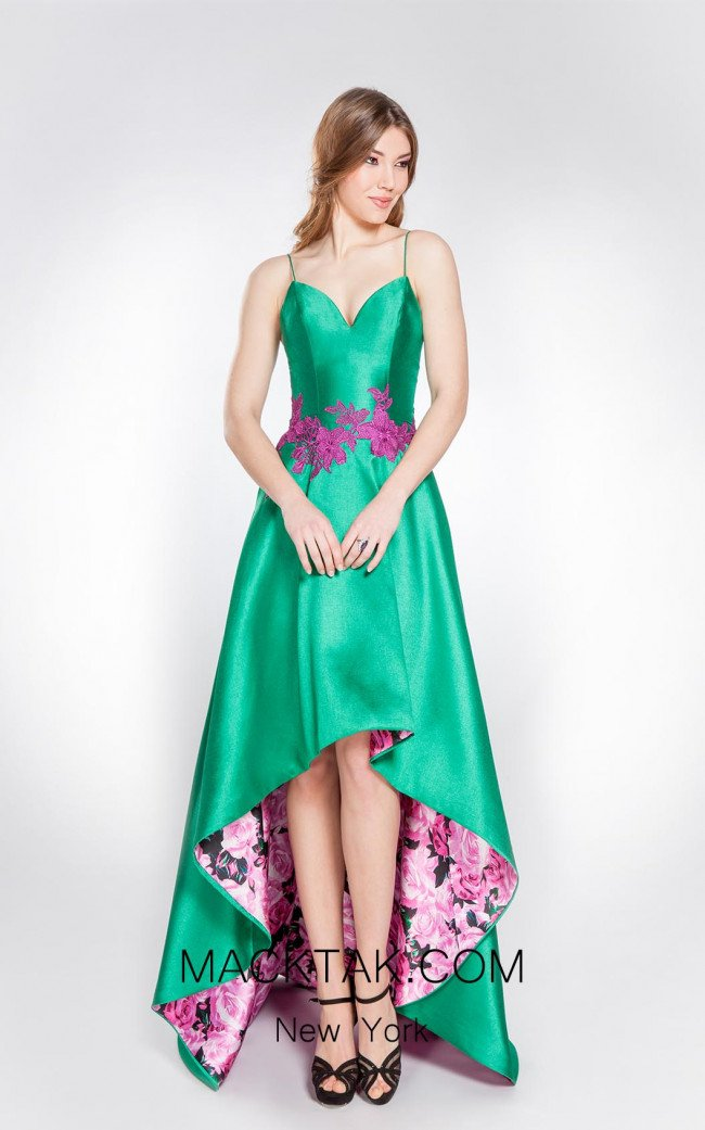 X & M Couture 8020 Front Evening Dress