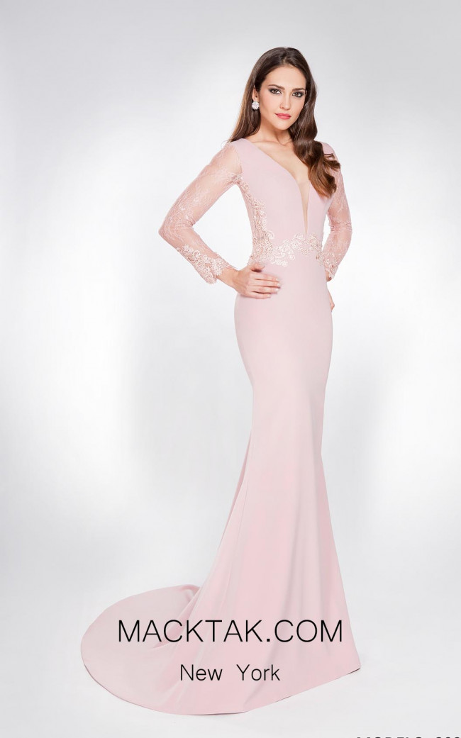 X & M Couture 8039 Front Evening Dress