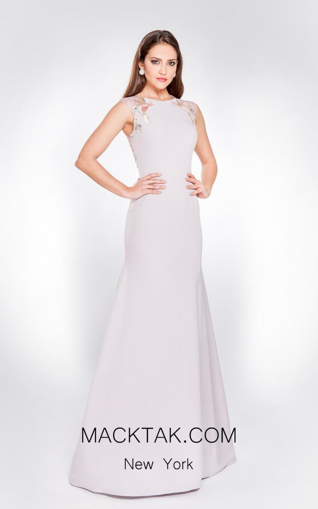 X & M Couture 8040 Front Evening Dress