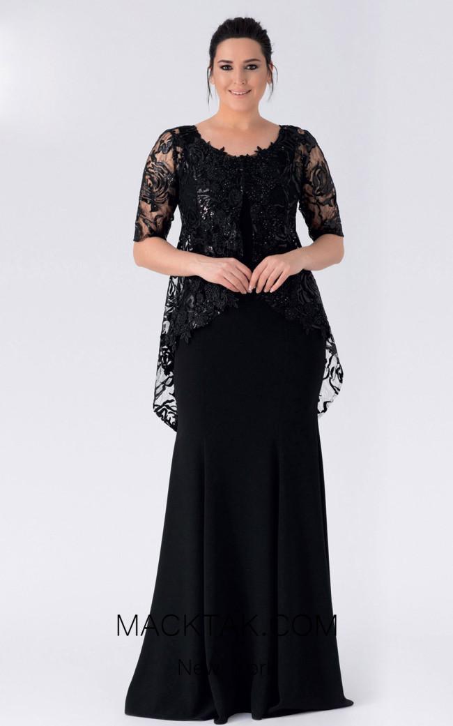 Alchera Y8346 Front Evening Dress