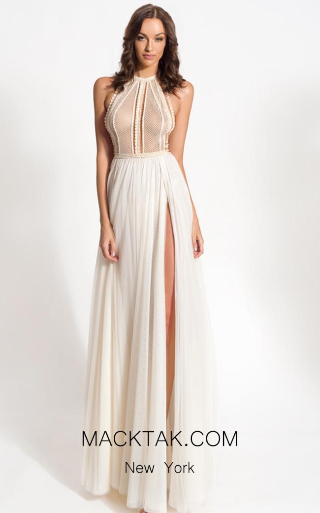 Zolotas Atelier Achillea Front Evening Dress