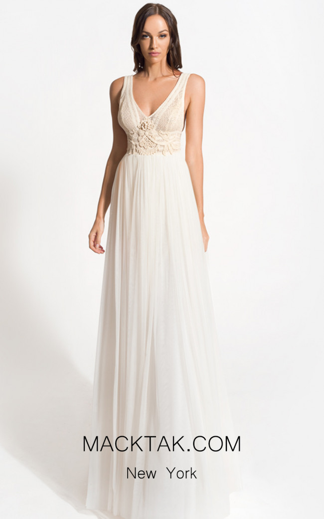 Zolotas Atelier Alkistis Front Evening Dress