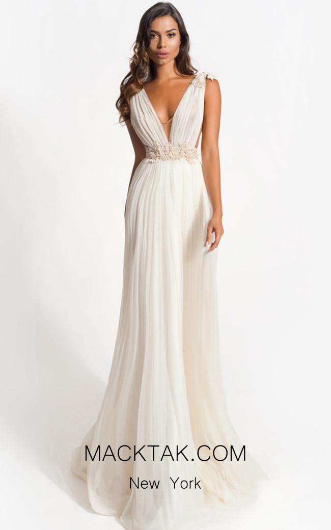 Zolotas Atelier Arya Front Evening Dress