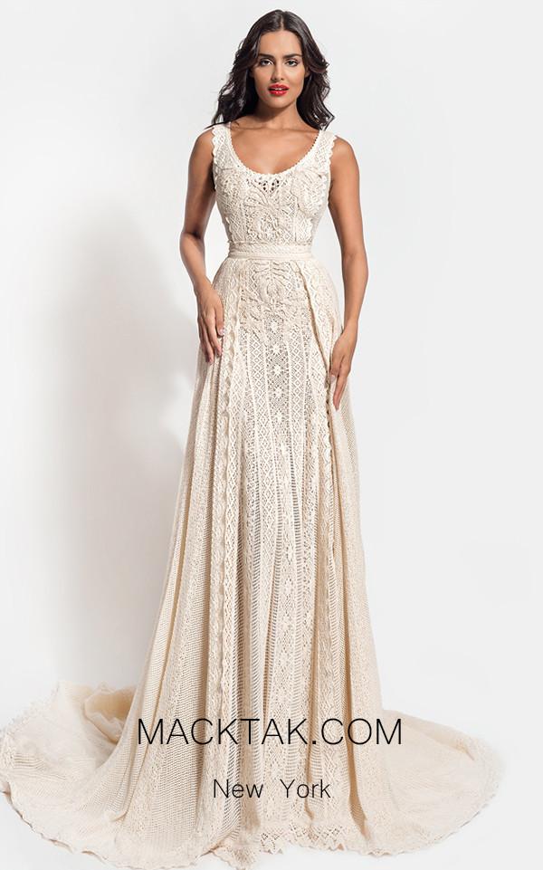 Zolotas Atelier Akantha Front Evening Dress