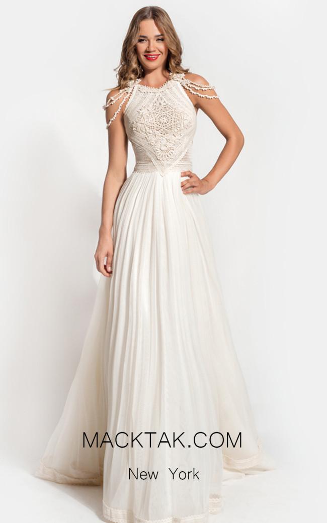 Zolotas Atelier Amarantha Front Evening Dress