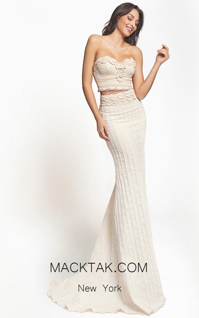 Zolotas Atelier Berenice Front Evening Dress