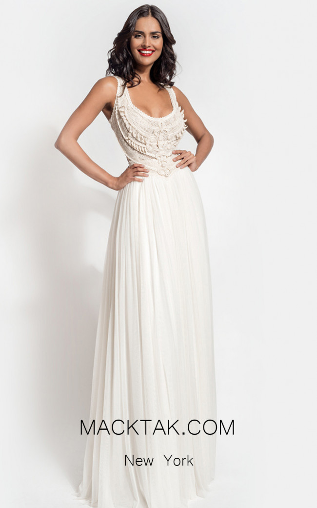 Zolotas Atelier Celinia Front Evening Dress