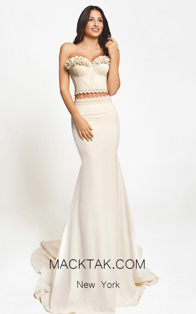 Zolotas Atelier Circe Front Evening Dress