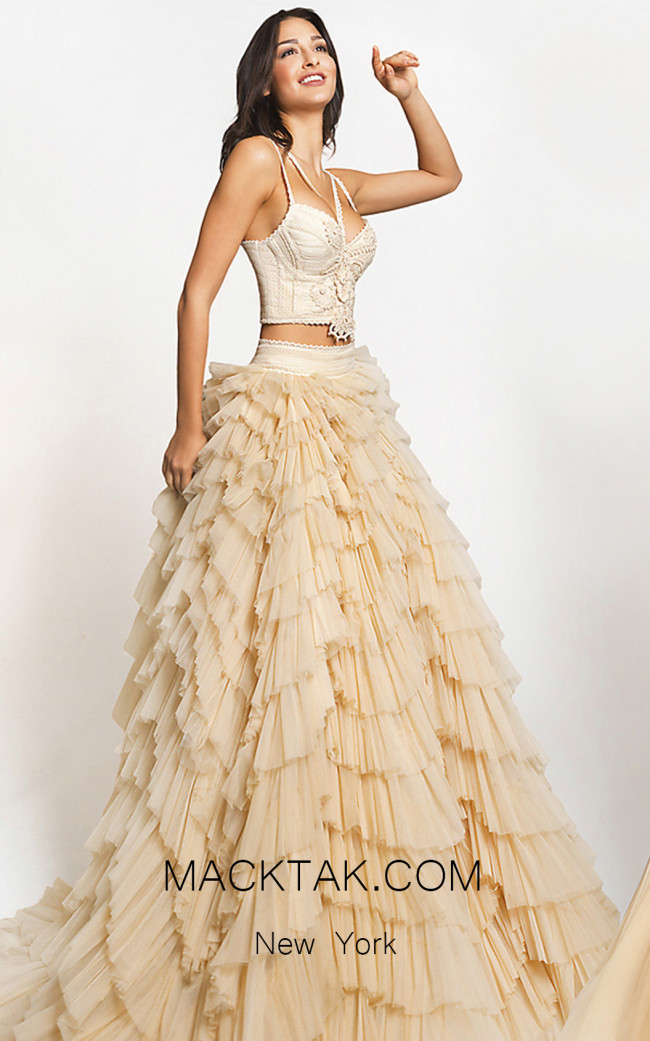 Zolotas Atelier Elysia Front Evening Dress