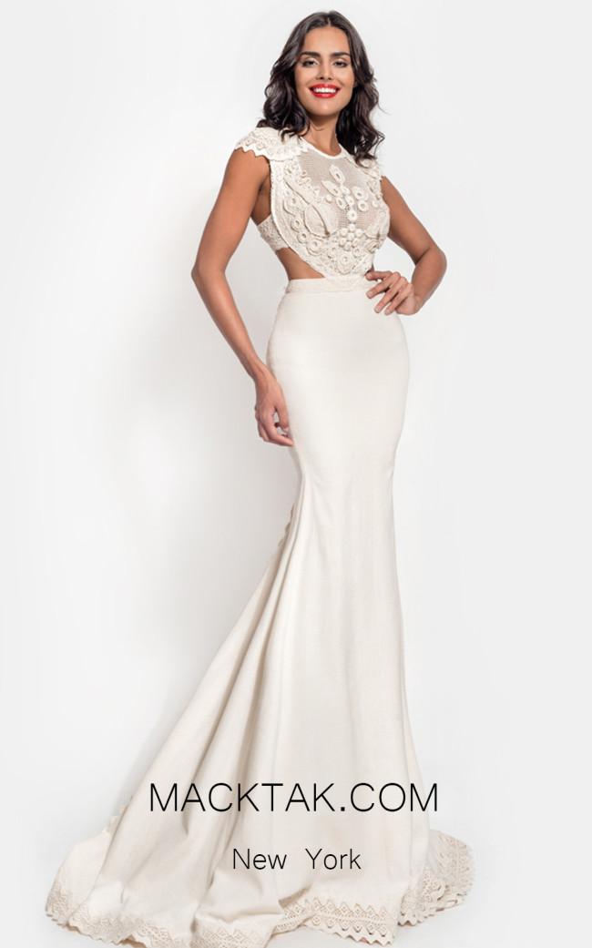 Zolotas Atelier Galatea Front Evening Dress
