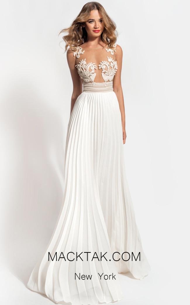Zolotas Atelier Harmonia Front Evening Dress