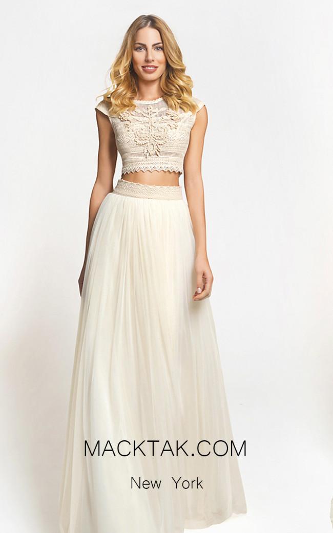 Zolotas Atelier Hera Front Evening Dress
