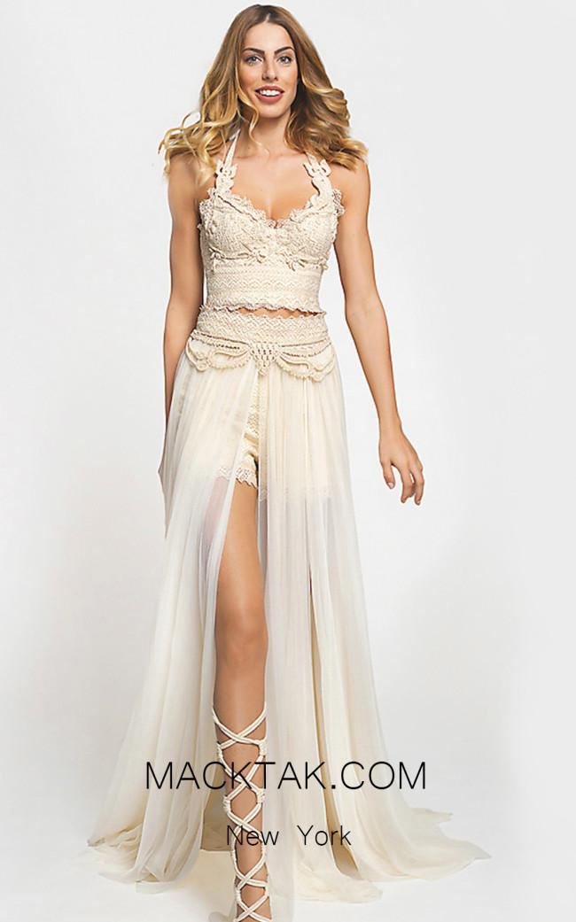 Zolotas Atelier Io Front Evening Dress
