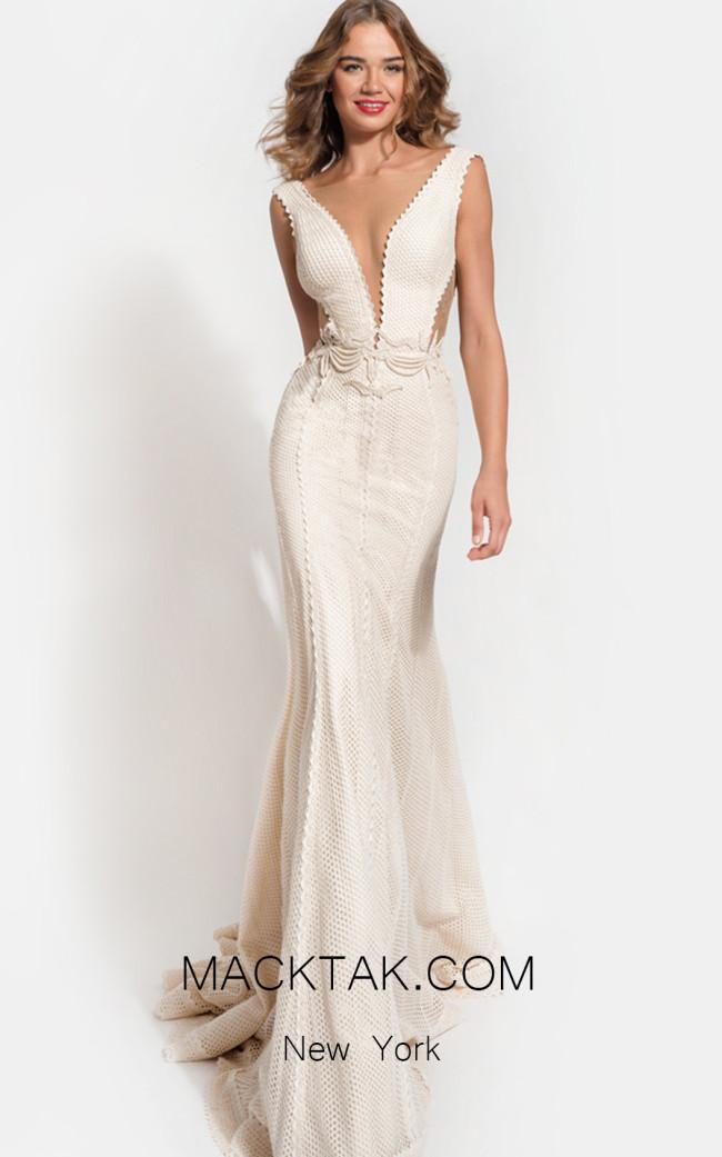 Zolotas Atelier Juno Front Evening Dress