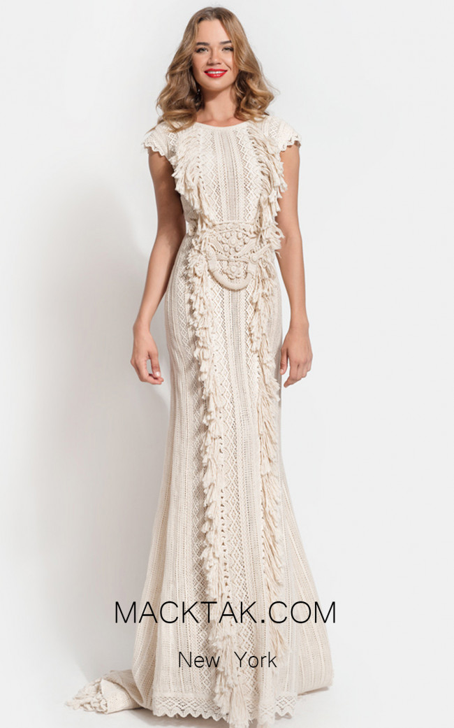 Zolotas Atelier Kalisi Front Evening Dress