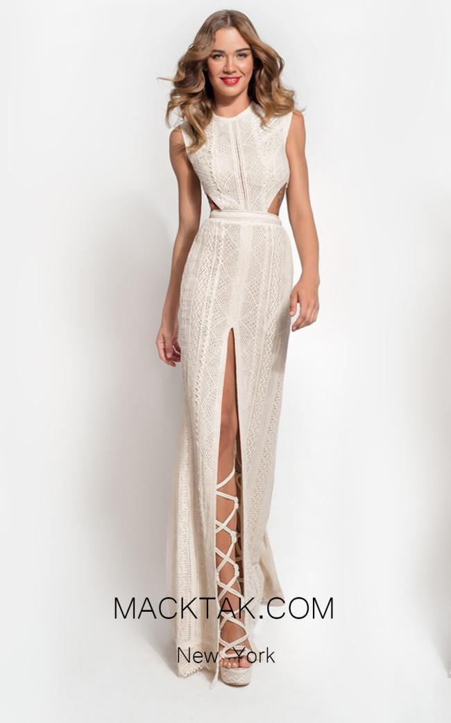 Zolotas Atelier Niovi Front Evening Dress