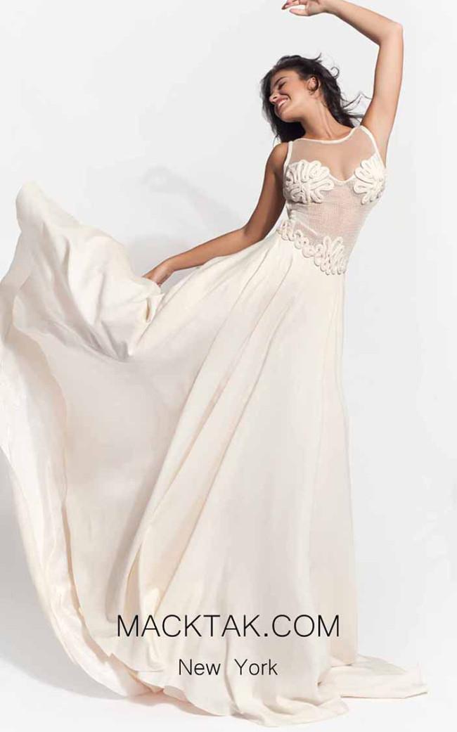 Zolotas Atelier Adeia Front Evening Dress