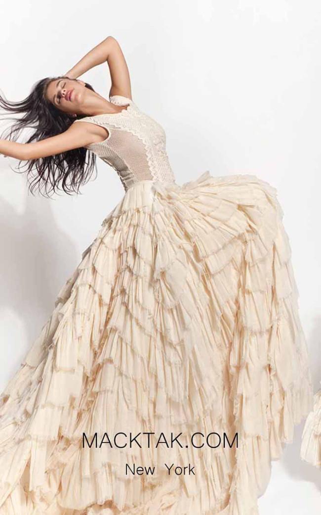Zolotas Atelier Aliana Front Evening Dress