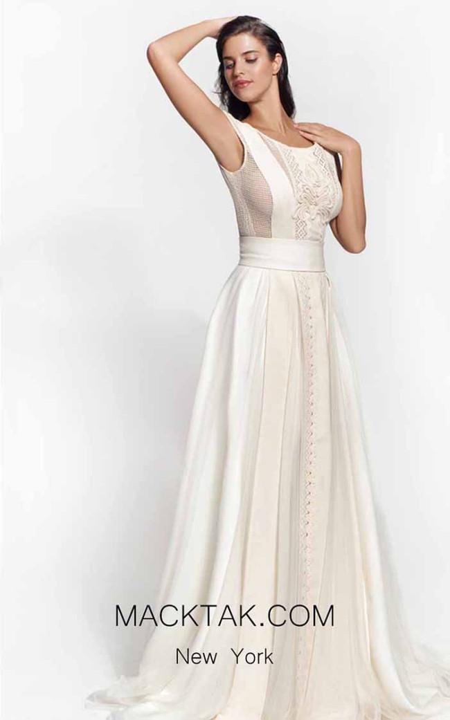 Zolotas Atelier Alike Front Evening Dress