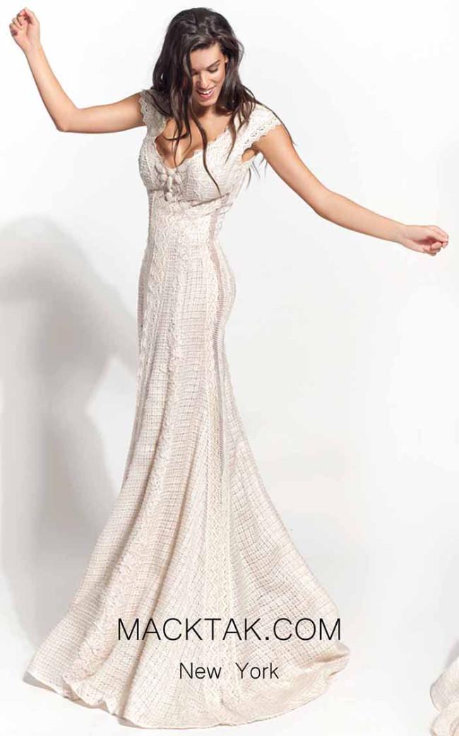 Zolotas Atelier Allia Front Evening Dress
