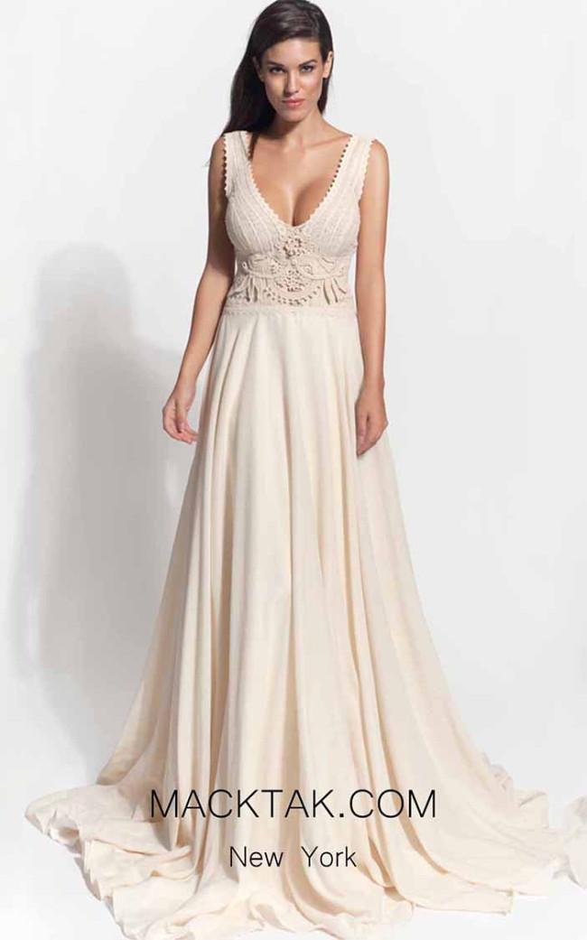 Zolotas Atelier Ambrosia Front Evening Dress