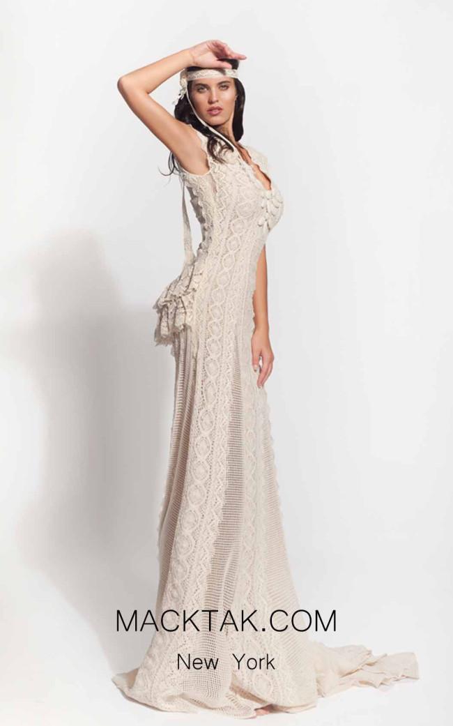 Zolotas Atelier Ephimia Front Evening Dress
