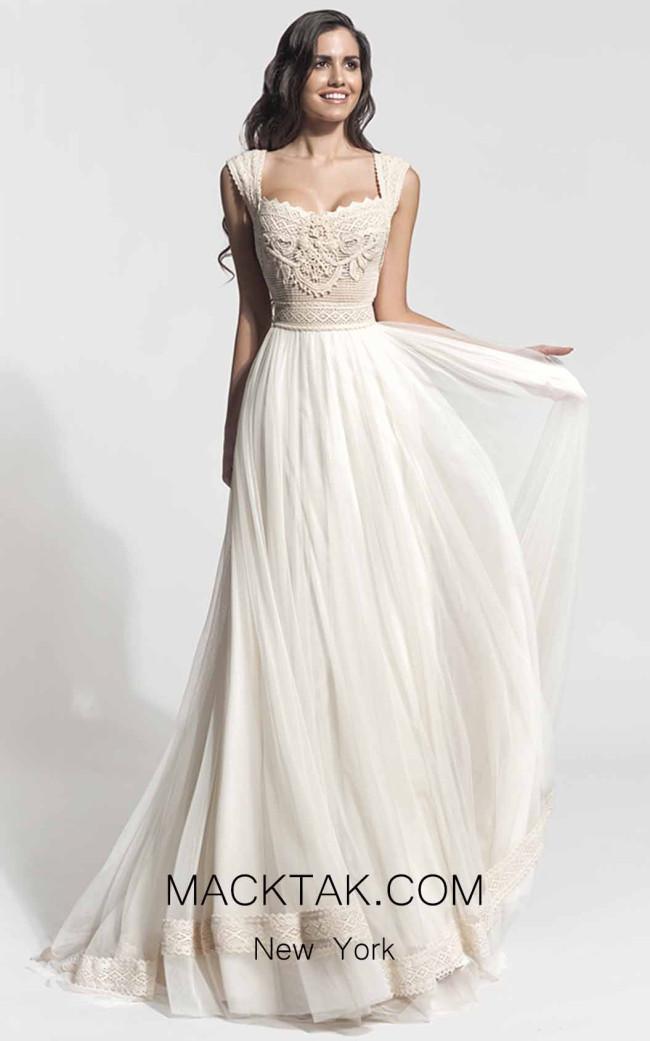 Zolotas Atelier Ijunia Front Evening Dress