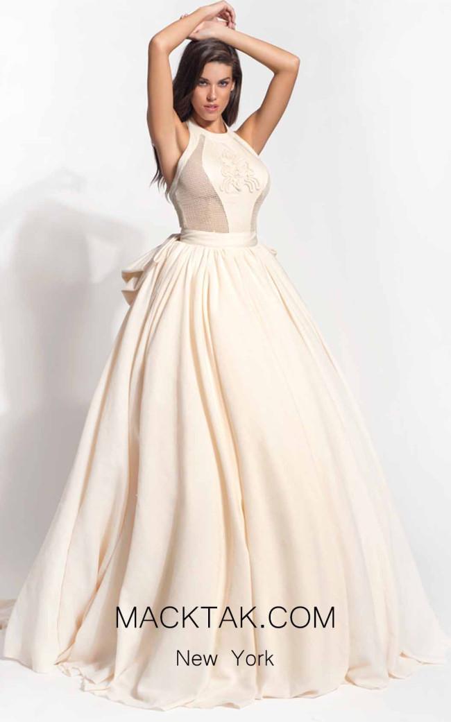 Zolotas Atelier Ioli Front Evening Dress