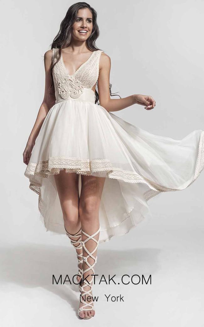 Zolotas Atelier Keila Front Evening Dress