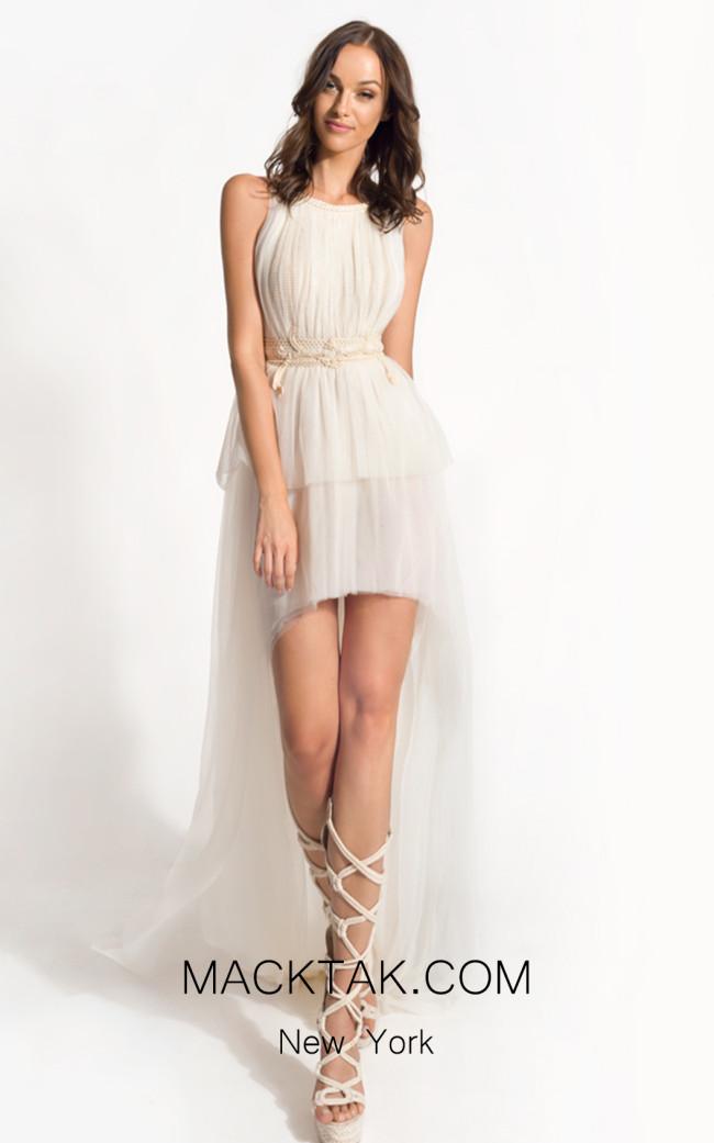 Zolotas Atelier Aura Front Evening Dress