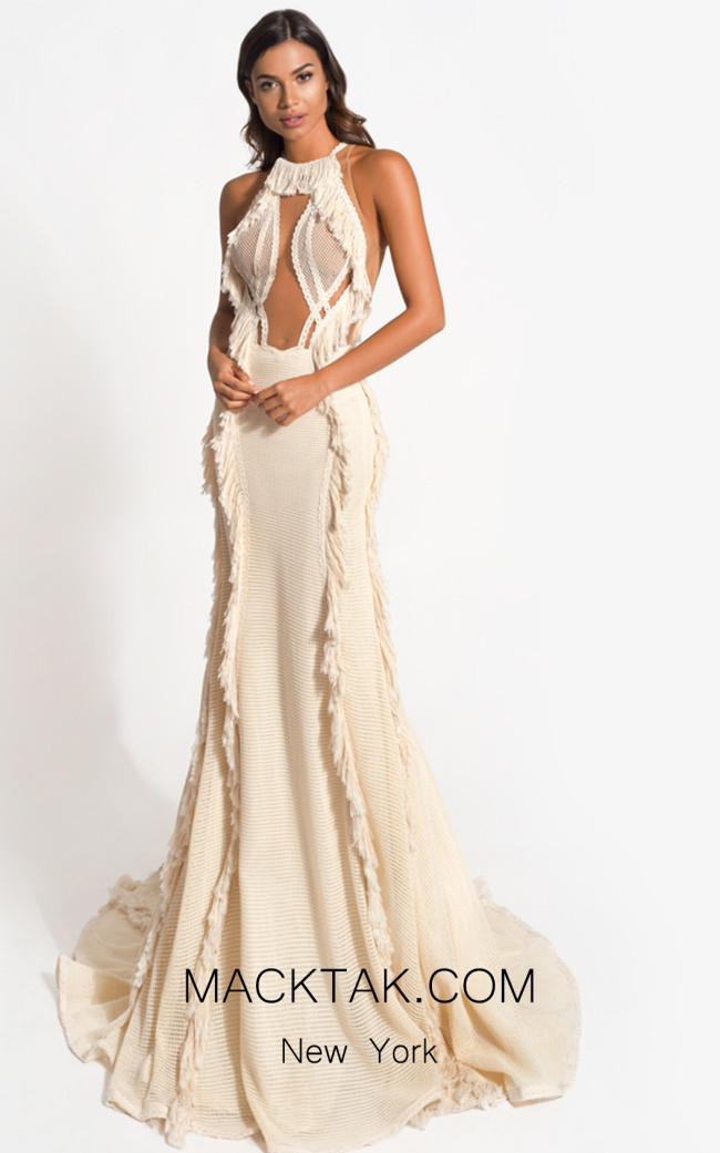 Zolotas Atelier Callisto Front Evening Dress
