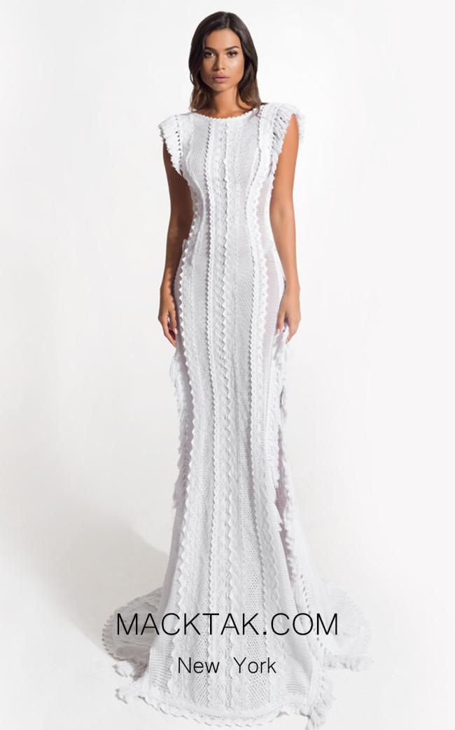 Zolotas Atelier Orora Front Evening Dress