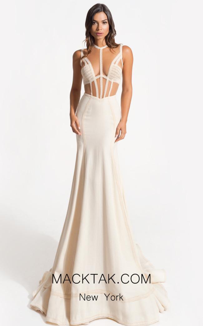 Zolotas Atelier Teresa Front Evening Dress