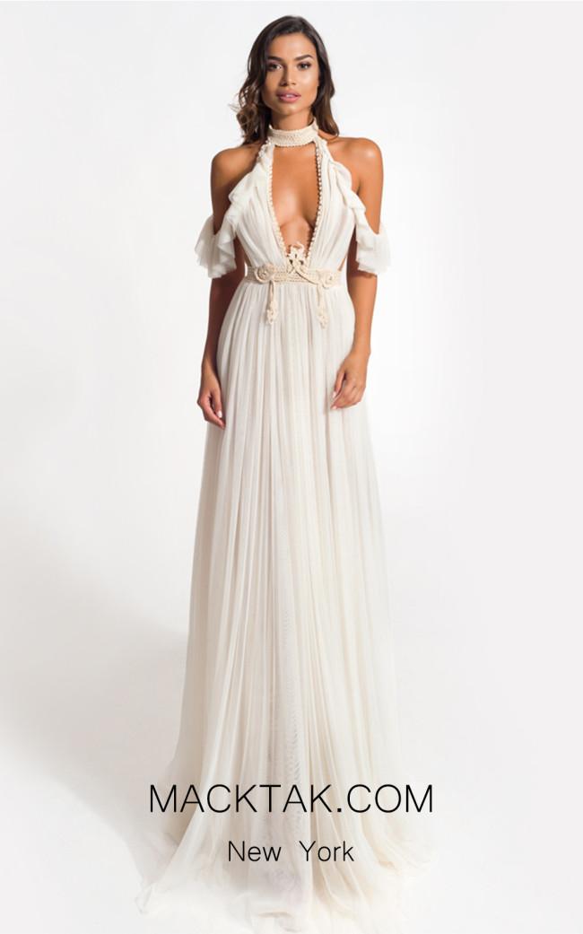 Zolotas Atelier Thryallis Front Evening Dress