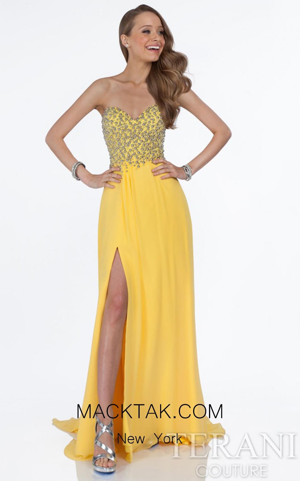 Terani 1612P0555 Yellow Front