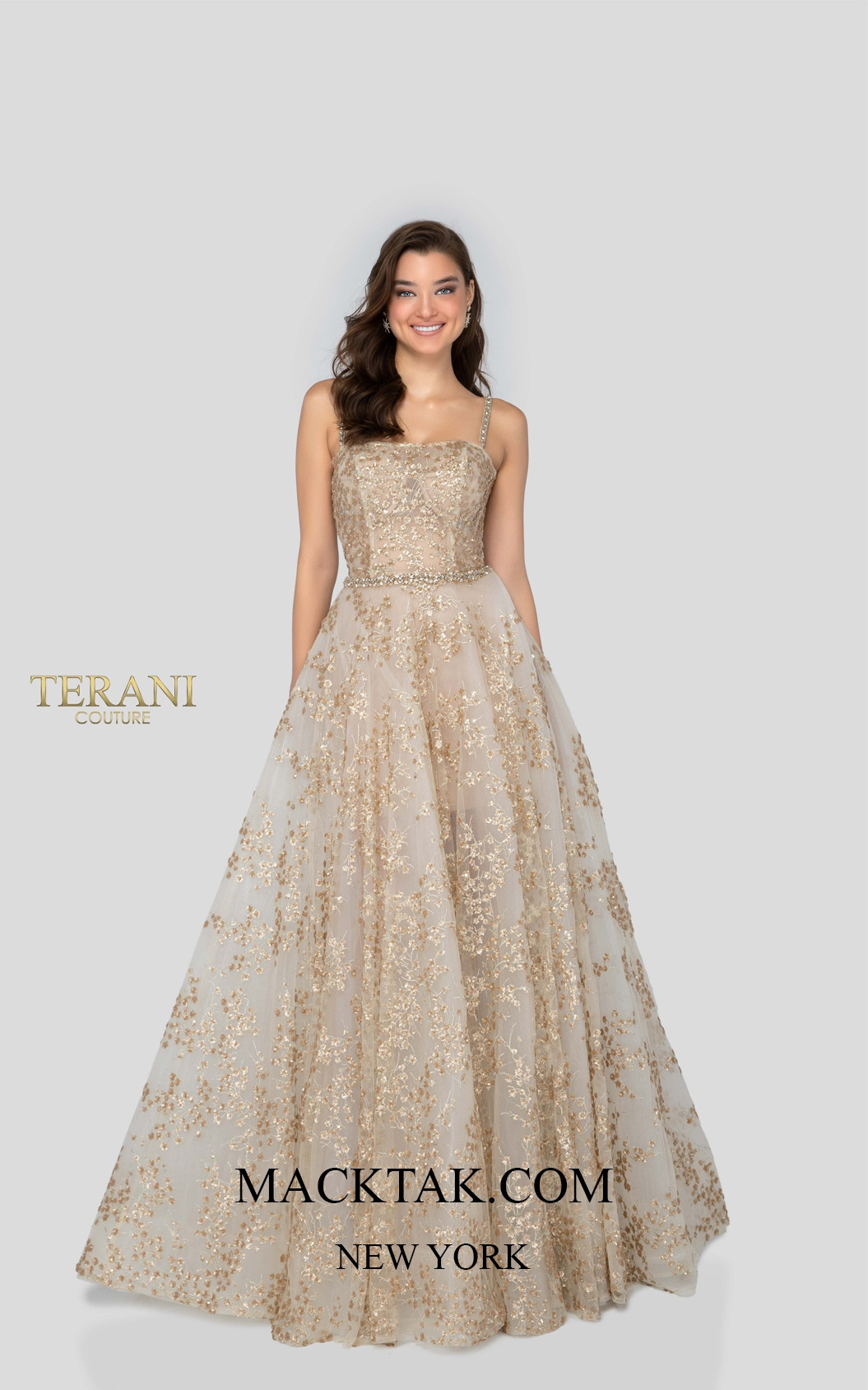 Terani 1912P8576 Front Dress