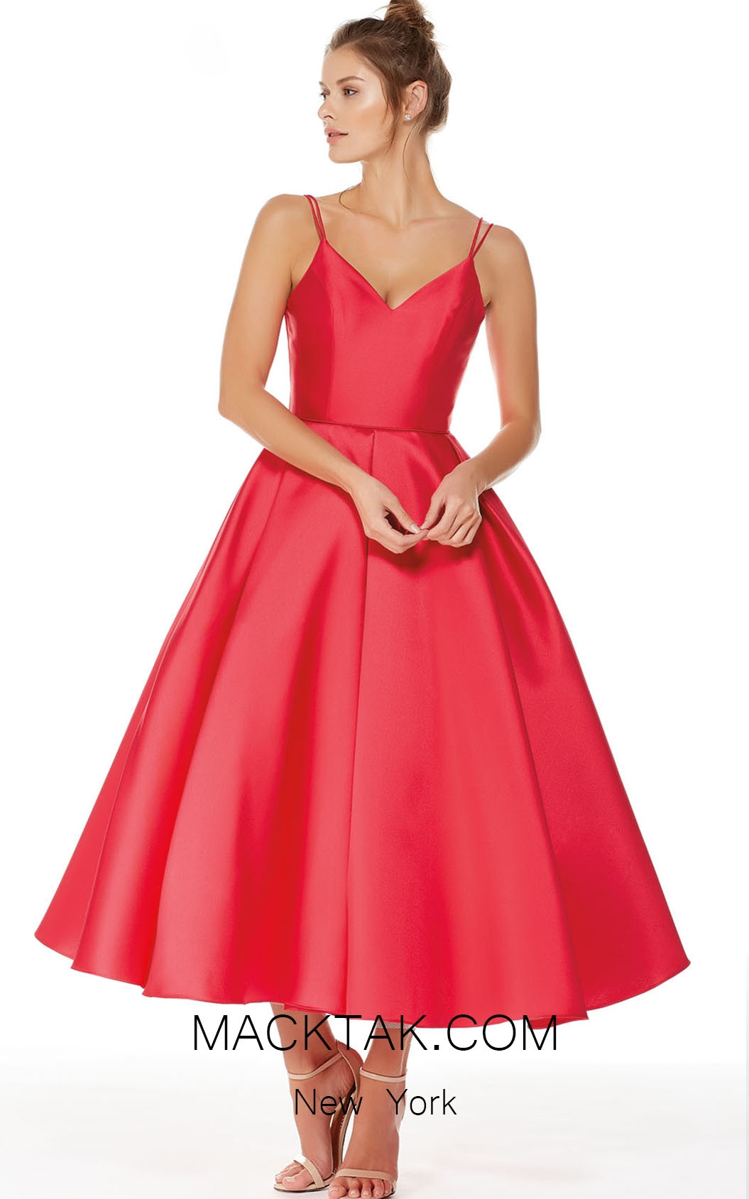 Alyce 3770 Red Front Evening Dress