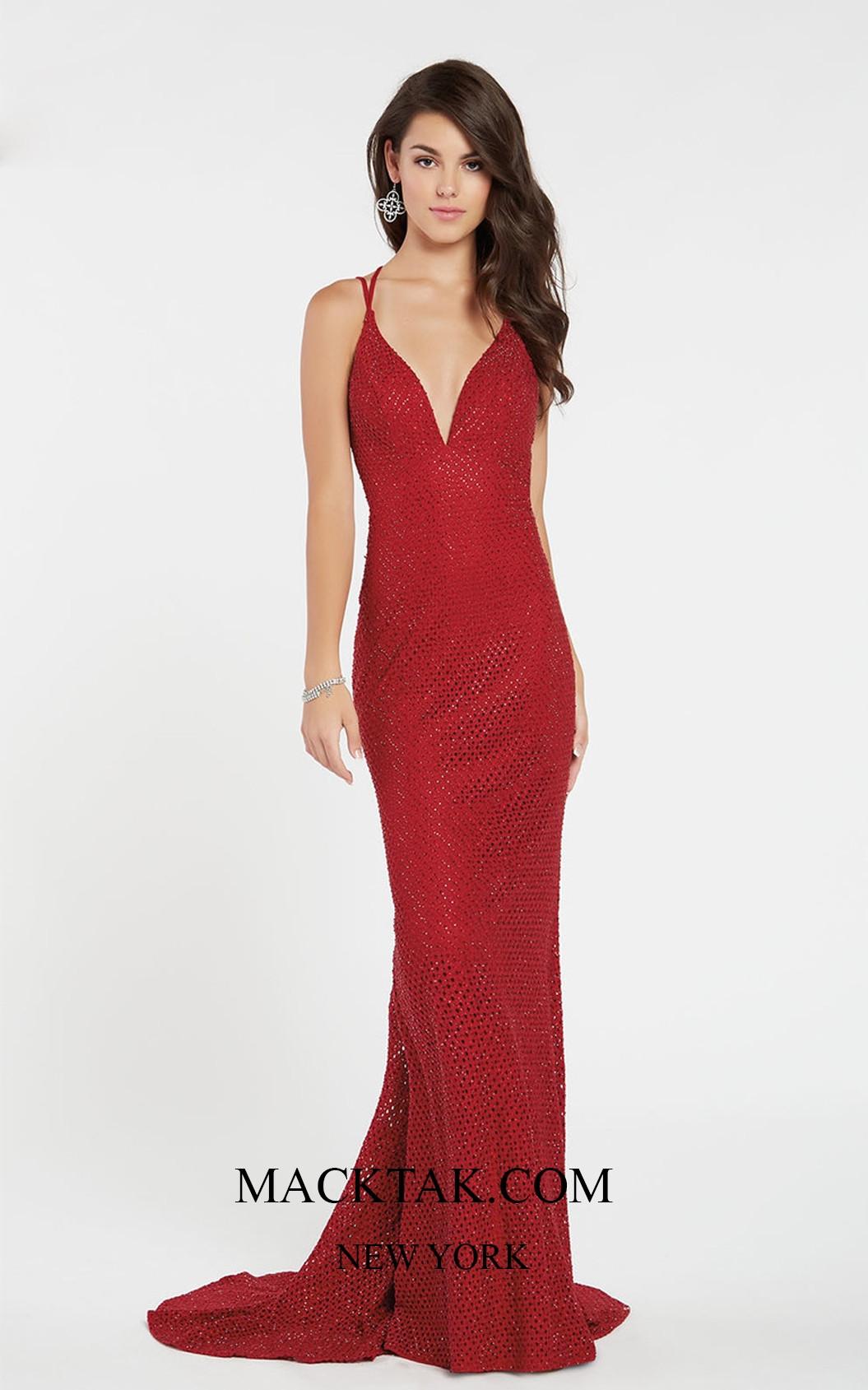 Alyce 60316 Frond Dress
