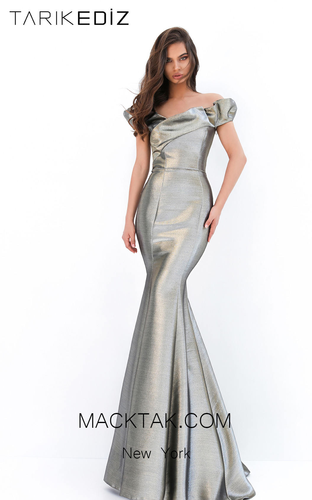 Tarik Ediz 93933 Front Evening Dress