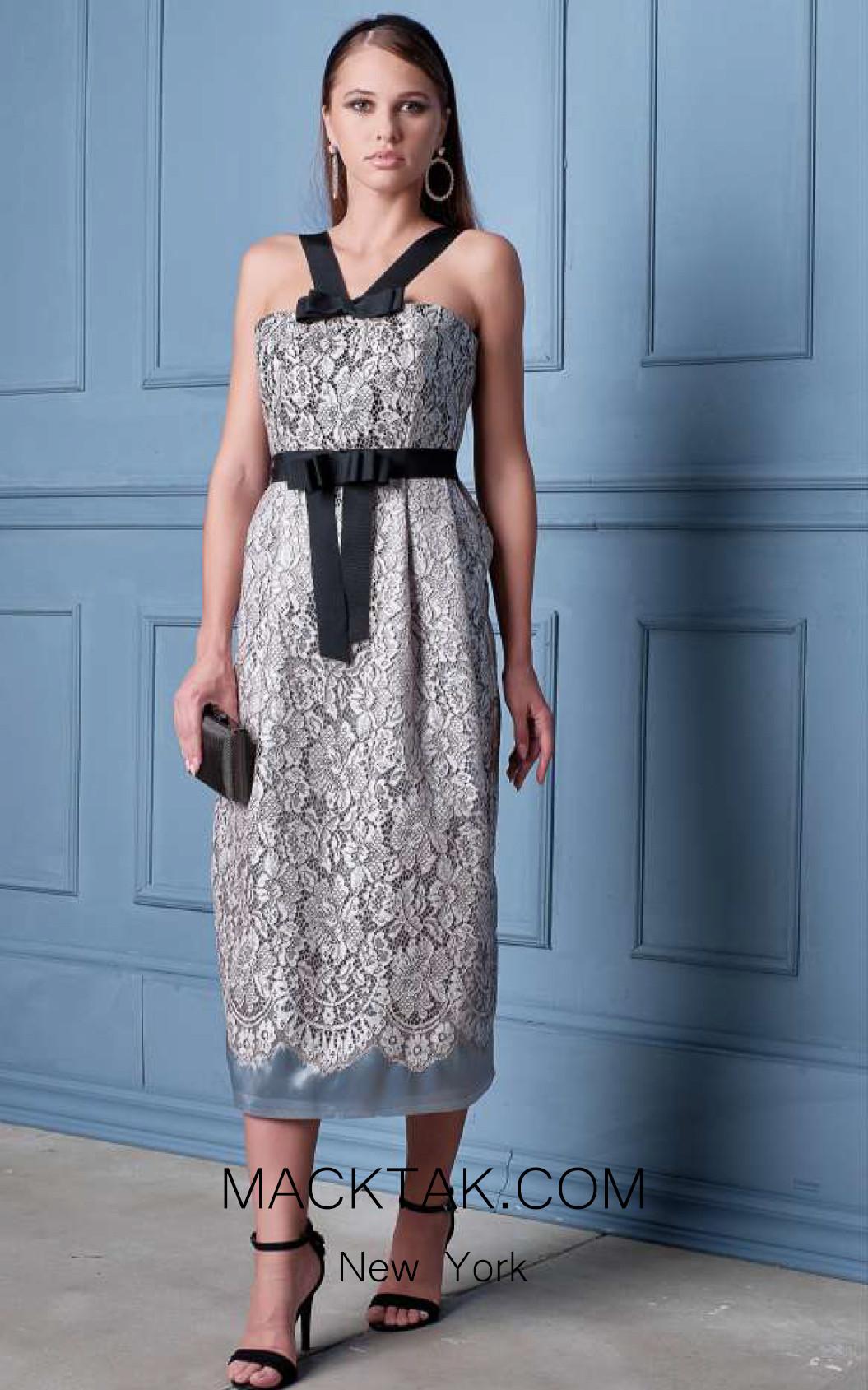 Alda Ciceu NRP SS20-24 Black White Front Dress