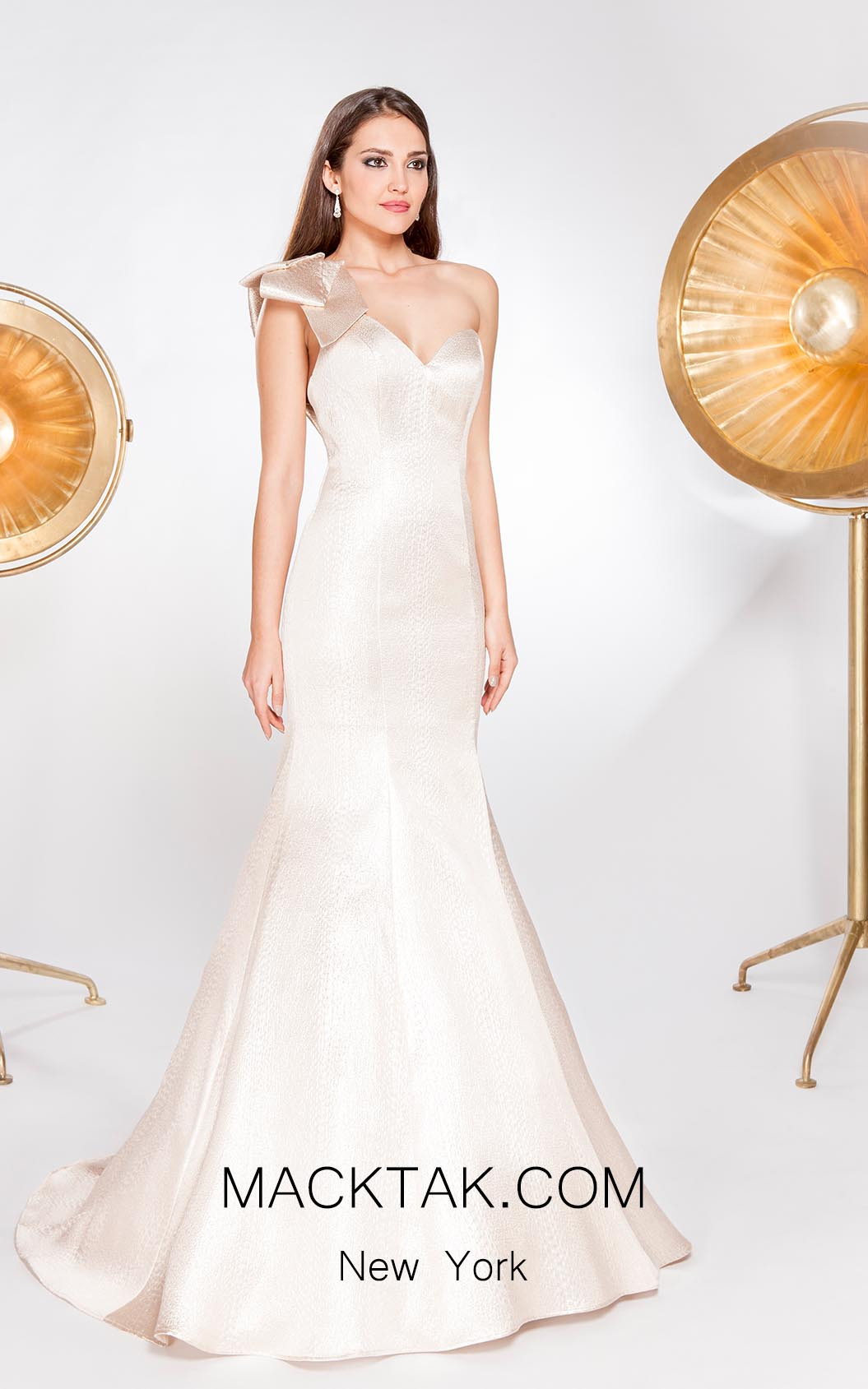 Alma Couture AC1073 Front Evening Dress