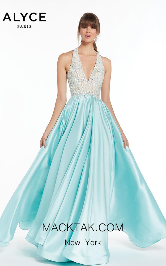 Alyce Paris 1412 Front Dress
