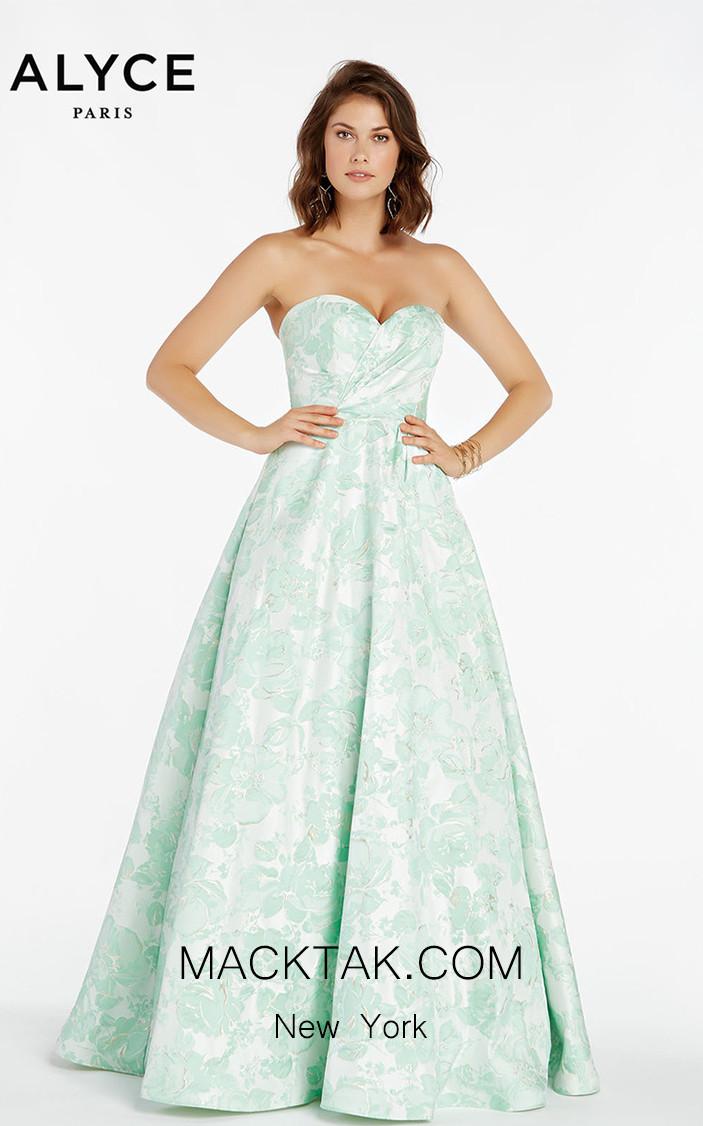 Alyce Paris 1433 Front Dress