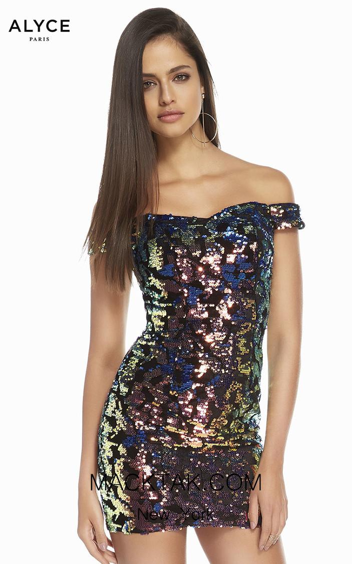Alyce Paris 4218 Front Dress