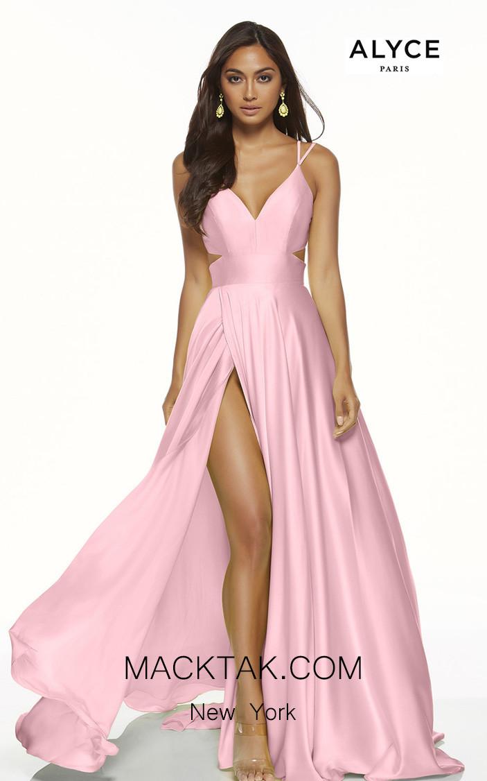 Alyce Paris 60453 Antique Rose Front Dress