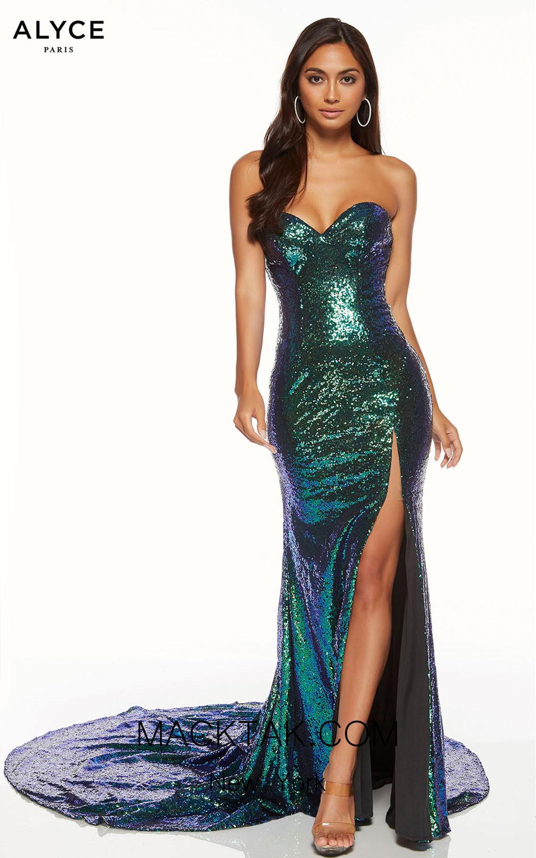 Alyce Paris 60820 Chameleon Front Dress