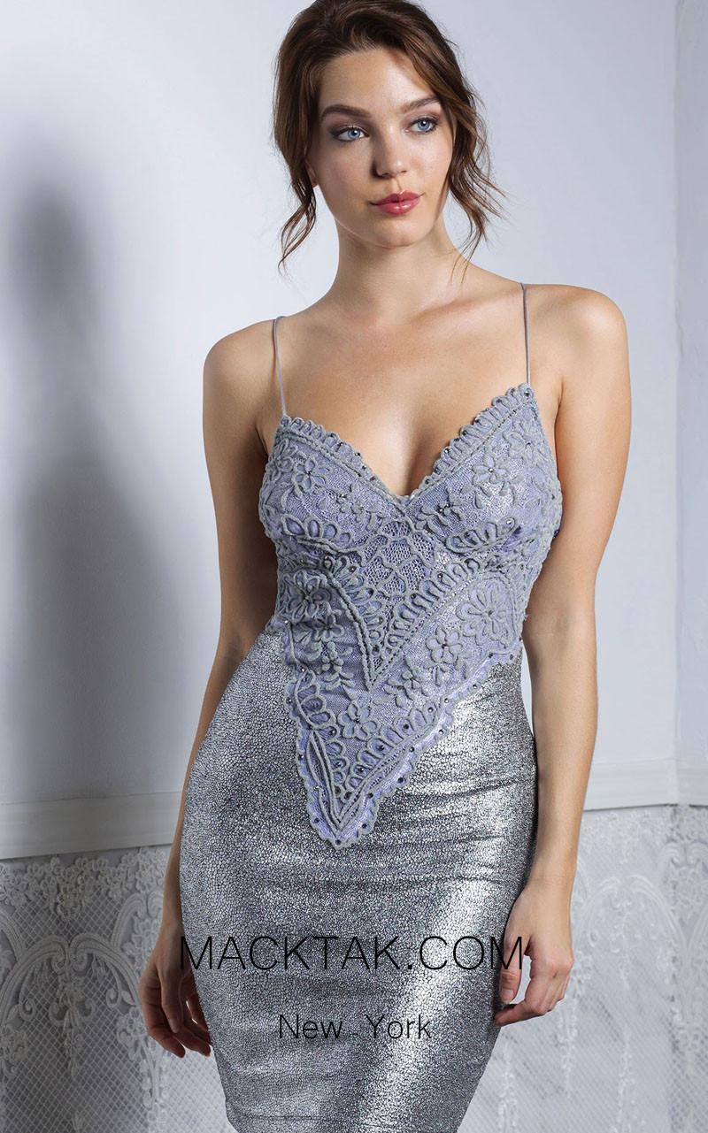Baccio Liz Platinum Front Dress